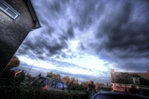 HDR sky by MisterDedication