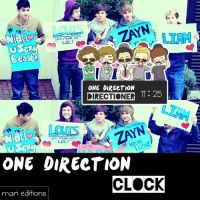 One Direction Skin Para Rainmeter by maarii03189