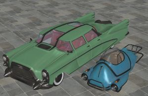 'Fallout 4' Car pack XPS ONLY!!! by lezisell