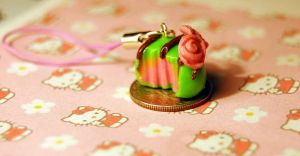 French Praline Charm by FatCatCharms