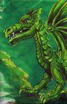 Emerald Dragon by kenfreelance