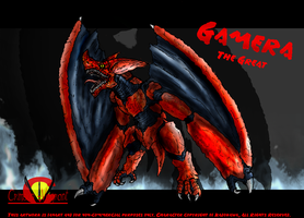 Gamera the Great: Super Gyaos by Vagrant-Verse