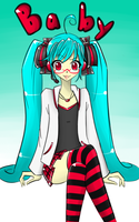 Miku Baby ID by Otakucouture