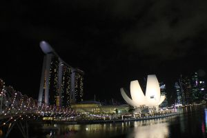 Marina Sands Hotel by SweeneyT-DemonBarber