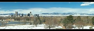 Classic Denver View by powowcow