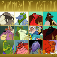 summary of art 2010 by LeonardGreenland