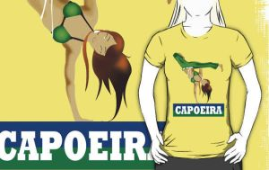 Capoeira Batizado Girl Shirt by drg