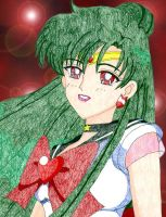 Super Sailor Pluto by Yunie-chan