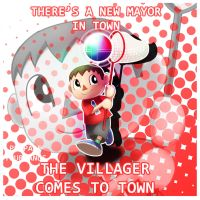 Super Smash Villager by Blackblader