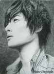 Kim Hyun Joong by Vivi--Art
