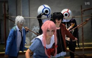 Mirai Nikki Cosplay Group by DEATHNOTE---L
