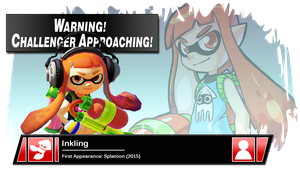 SSB4 Banner: Inkling by Pixiy
