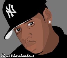Jay Z by Graffiti-Artist