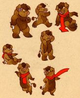 thistles everywhere by luve