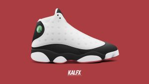 Air Jordan 13 'Black Toe' by BBoyKai91