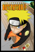 Naruto doesn't share by piagetcanard