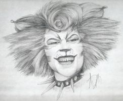 Rum Tum Tugger Drawing by Skimbleshanks2