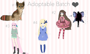 Adoptable Batch by yunaachan