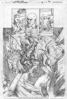 RAVAGER p.5 page 4 pencils by Cinar