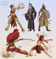 Warriors of the Desert by Brett-Neufeld