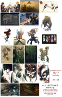 Fanime leftover prints sale by hakuku