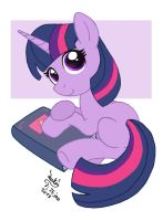 MLP FIM - Filly Twilight Sparkle by Joakaha
