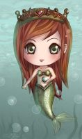Chibi Mermaid by DovahLi