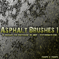 Asphalt 1 Brushes by AscendedArts