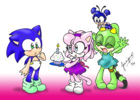 Happy Burfday Sonic by chibi-jen-hen