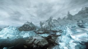 Frozen Fantasy Wasteland by lupusmagus