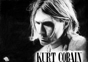 Kurt Cobain by Death-pledge