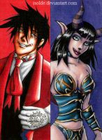 bookmark: Alucard+Succubus by isolde