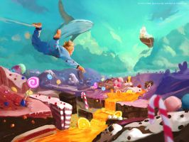 Candy world by Kalberoos