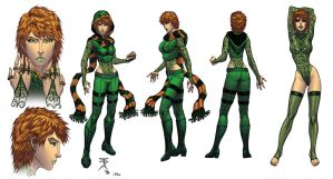 Fenian Modelsheet Color by Ross-A-Campbell