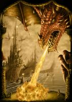 Dragon Attack by AndrewDobell