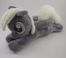 Floppy Derpy Hooves Plushie by Brainbread
