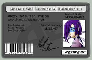 ID 8 - License by blitzgun