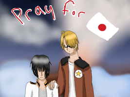 APH: Pray For Japan by loliichan