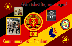Tribute to East Germany by christiansocialism