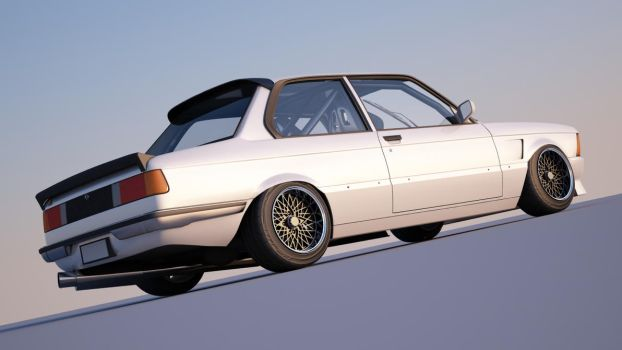 white e21 by spittty