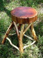 AussieTimberMiniStool by CoolingGiant
