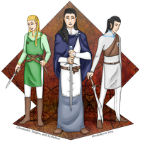 LotR/S/H: And the Swords of Old by Houkakyou