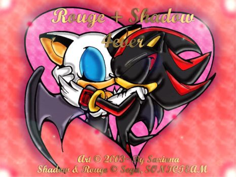 Shadow And Rouge Kiss - Color by sarinpanda