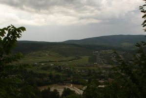 view from the castle, Ukraine by JenieCallipso