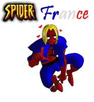 Spider-France by SkilledMoon