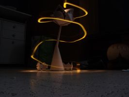 Origami + LightPainting by BABgraph