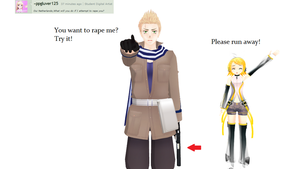 Ask-MMD-Netherlands: Question 54 by Ask-MMD-Netherlands