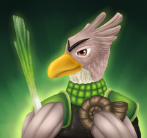 TWITCH - The Knight by Wolframclaws