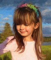 Portrait of a young Girl by gfaruque