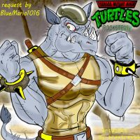 request by BlueMario1016  ROCK by trextrex65